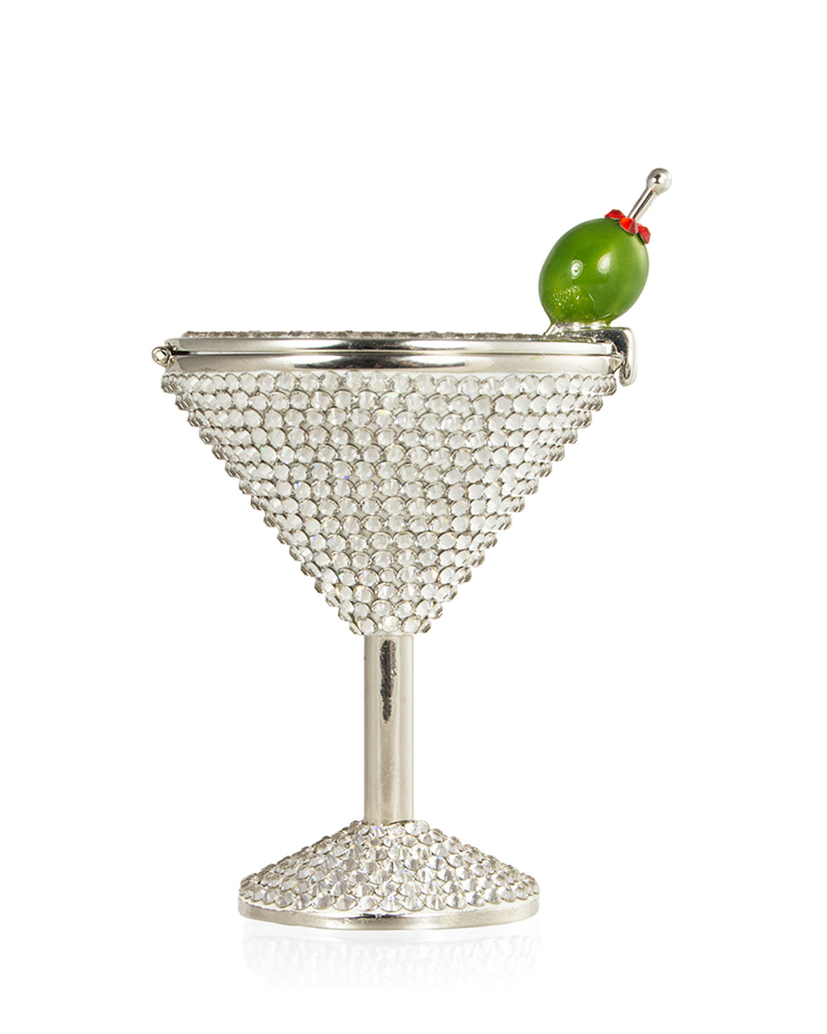 Martini Crystal Pill Box