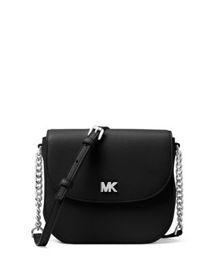 MICHAEL Michael Kors Half-Dome Leather Crossbody Bag -