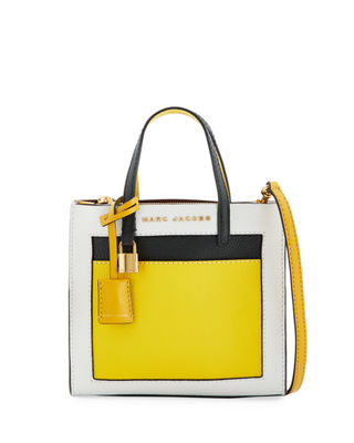 The Grind Colorblock Tote Bag