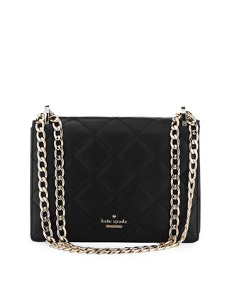 Image 1 of 3: emerson place marci quilted crossbody bag