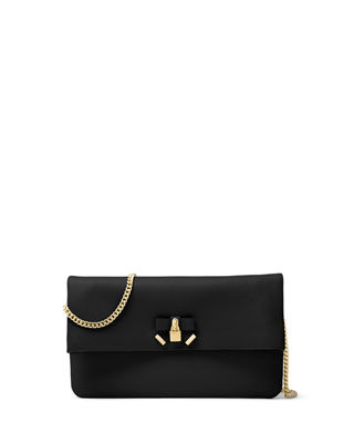 Image 1 of 2: Everly Medium Fold-Over Clutch Bag