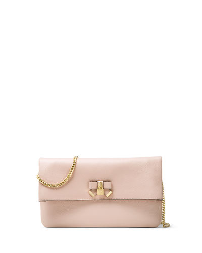 MICHAEL Michael Kors Everly Medium Fold-Over Clutch Bag