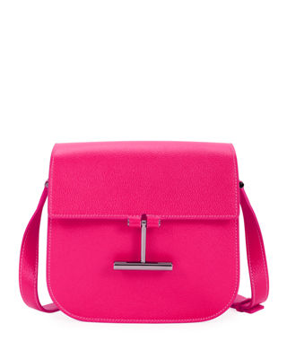 Image 1 of 3: Tara Mini Leather Crossbody Bag