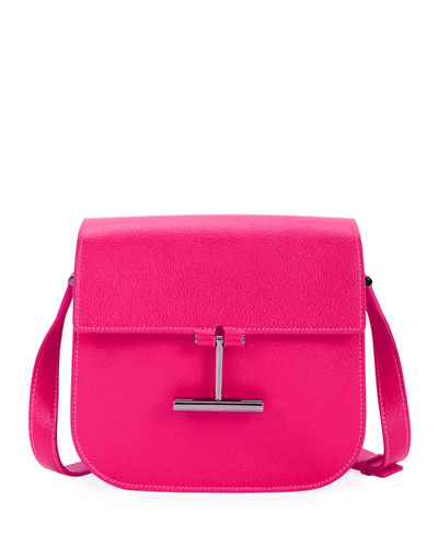 Tara Mini Leather Crossbody Bag