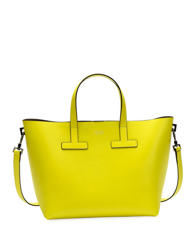 T Tote Mini Saffiano Leather  Bag