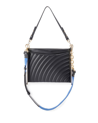 Chloe Roy Quilted Leather Clutch Bag