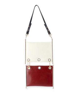 Image 3 of 3: Roy Double Layered Shoulder Bag