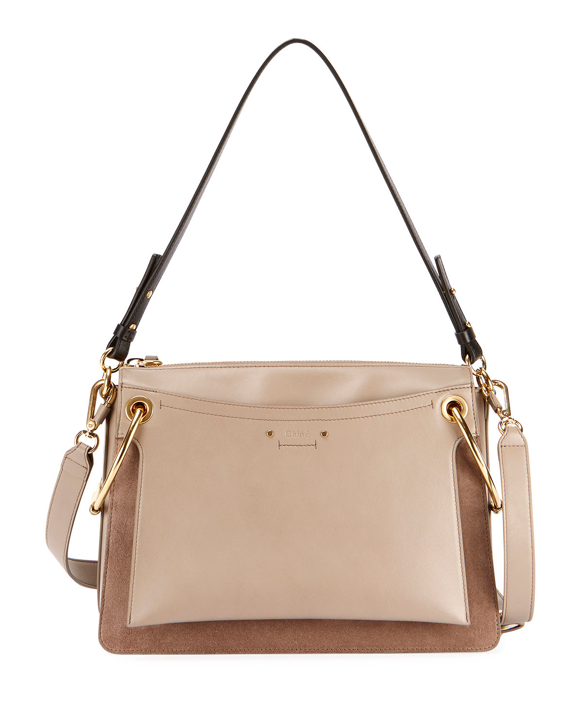 Chloe Roy Leather Shoulder Bag  e2babc2bae18e