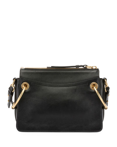 Roy Leather/Suede Shoulder Bag