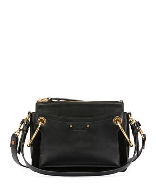 Chloe Roy Leather/Suede Shoulder Bag