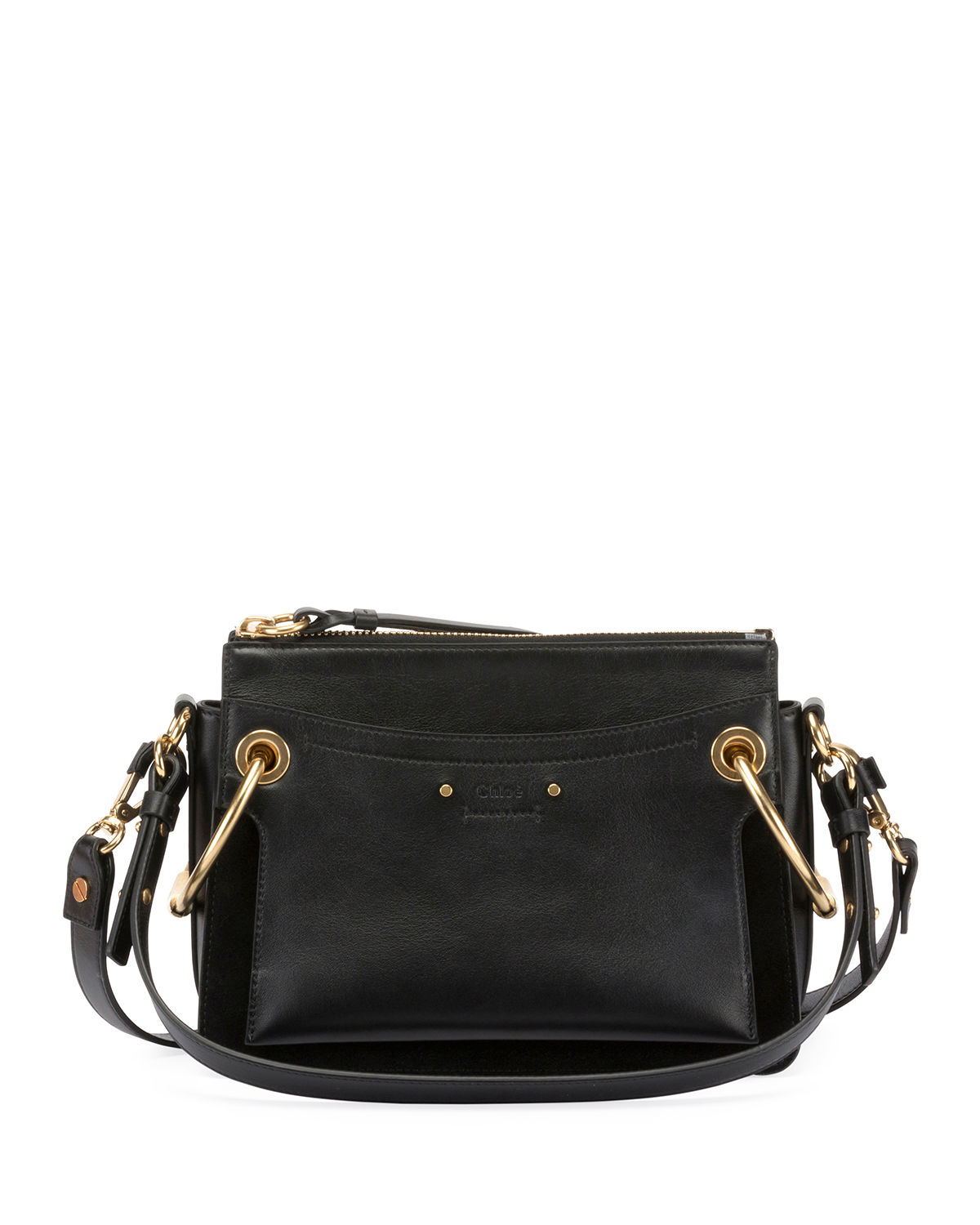 Chloe Roy Leather Suede Shoulder Bag  0eb5b63840ae8