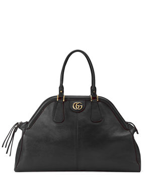 83610f9d178f Gucci RE(BELLE) Large Leather Top Handle Bag