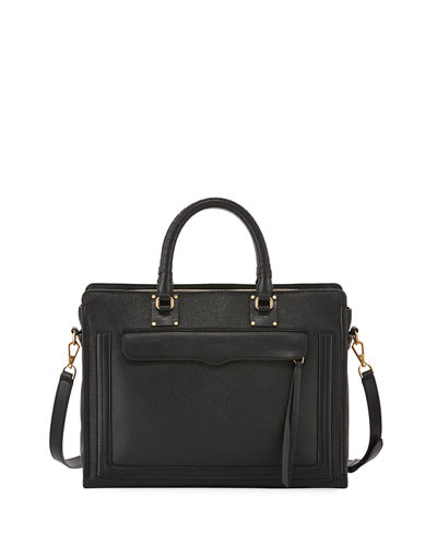Bree Large Top Zip Satchel Bag