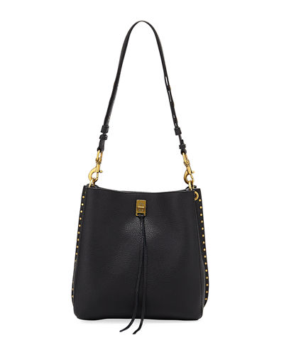 Darren Small Feed Leather Crossbody Bag