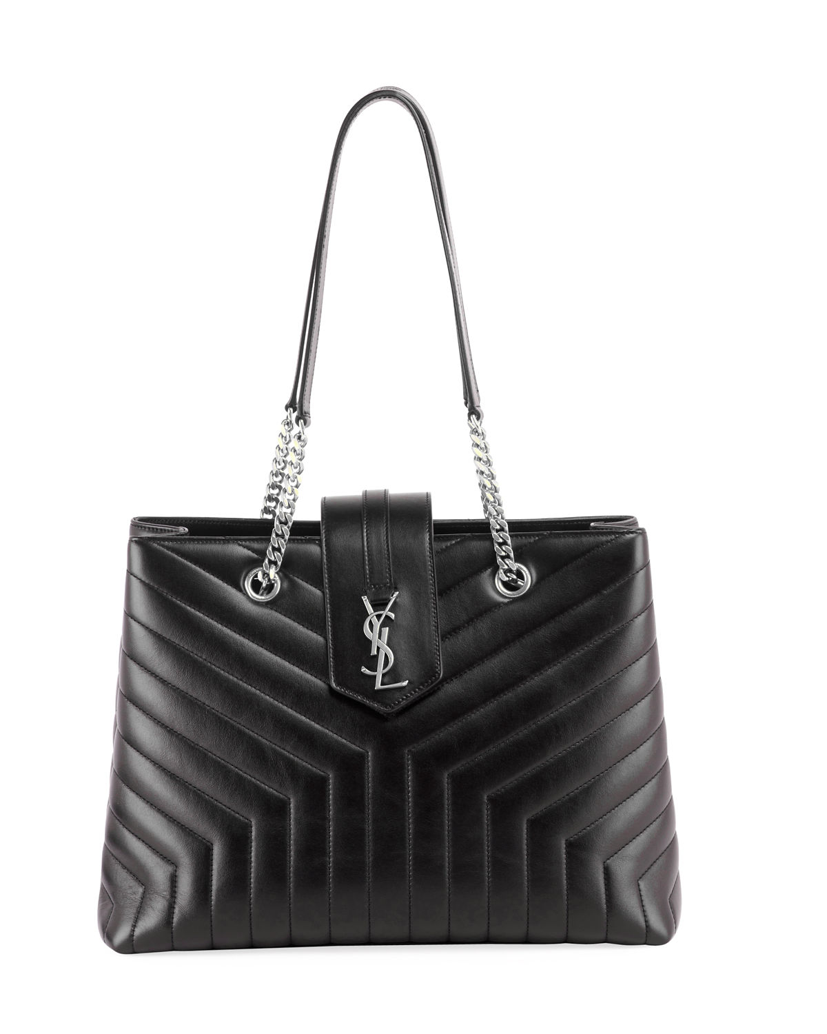 Saint Laurent Loulou Monogram Ysl Large Quilted Shoulder