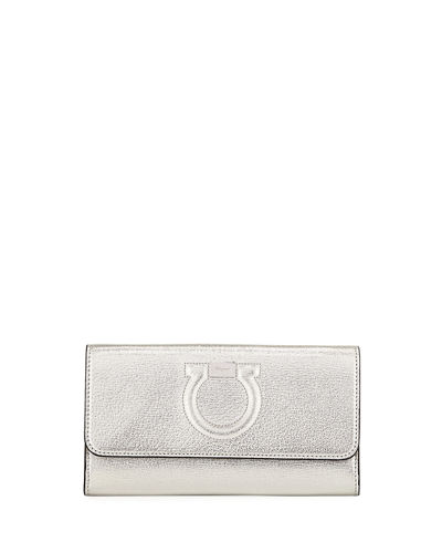 Gancio City Metal Crossbody Bag