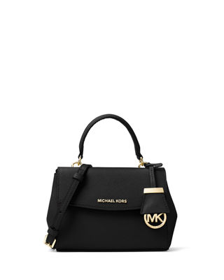 MICHAEL Michael Kors Ava Extra-Small Saffiano Leather Satchel