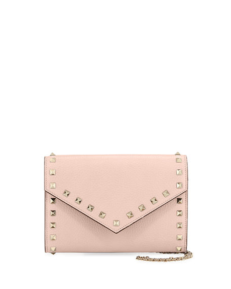 Valentino Garavani Rockstud Wallet On A Chain