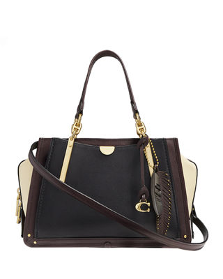 Coach 1941 Dreamer 27 Glove-Tanned Leather Satchel Bag