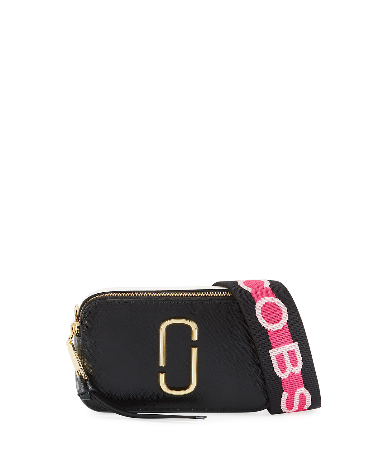cb2e717a458d Marc Jacobs Snapshot Coated Leather Camera Bag