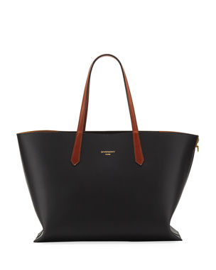 6608f385234 Givenchy GV Medium Smooth Leather Shopper Tote Bag