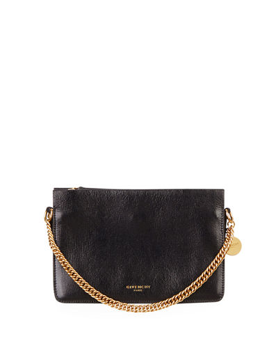 Triple Leather Crossbody Bag