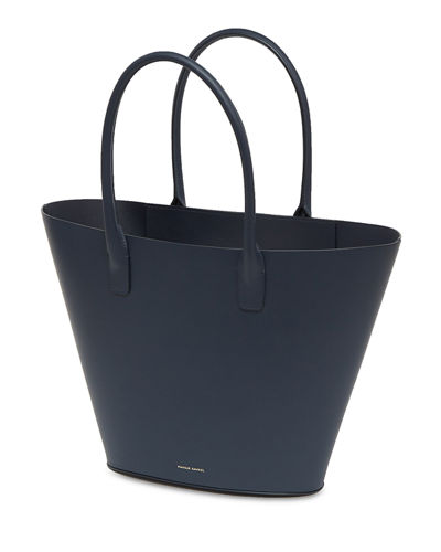 Triangle Calf Tote Bag