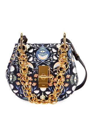 Chloe Drew Bijou Mini Artistic Shoulder Bag
