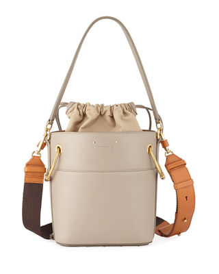Chloe Roy Small Smooth Calf Leather Bucket Bag