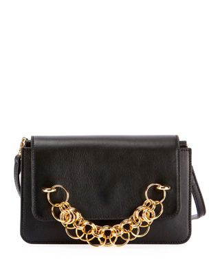 Chloe Drew Bijou Leather Clutch Bag