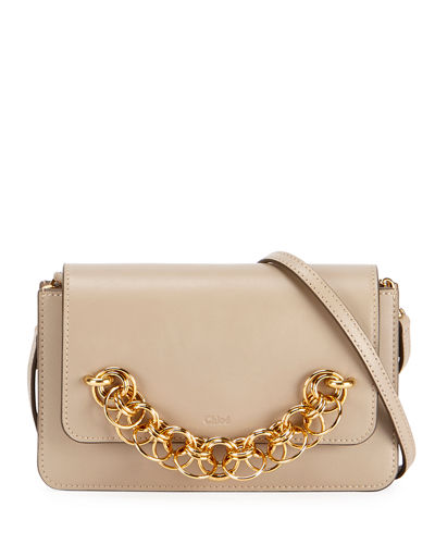 Drew Bijou Leather Clutch Bag