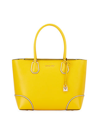 MICHAEL Michael Kors Mercer Gallery Medium Leather Tote