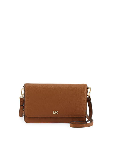 MICHAEL Michael Kors Leather Phone Crossbody Wallet