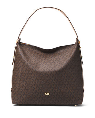 MICHAEL Michael Kors Griffin Large Logo Hobo Bag