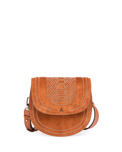 Ghianda Mini Calf Saddle Bag