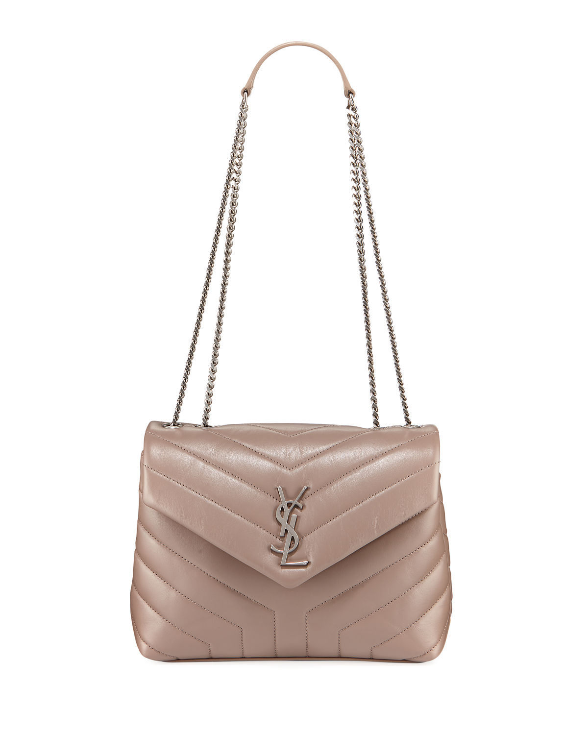Loulou Monogram YSL Small Chain Bag