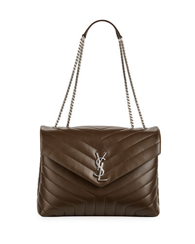 Saint Laurent Loulou Monogram YSL Medium Chain Shoulder Bag