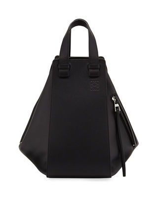 Loewe Hammock Medium Grained Leather Satchel Bag
