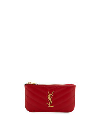 Saint Laurent Loulou Monogram YSL Mini Quilted Leather