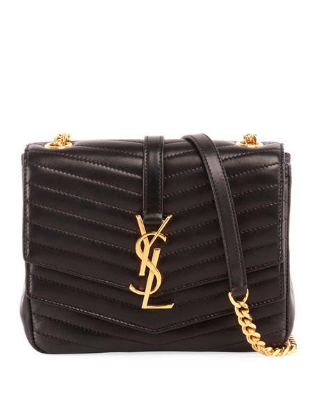 708d782a757 Saint Laurent Montaigne Quilted Lambskin Crossbody Bag - Black In Nero