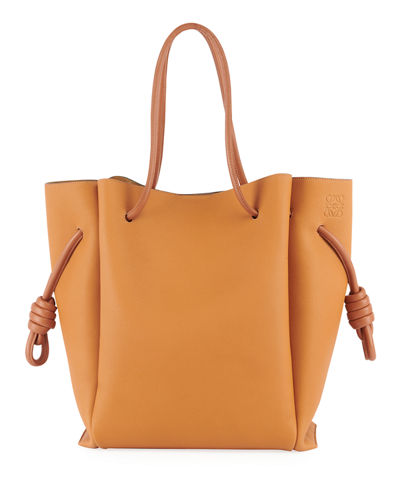 Flamenco Knot Two-Tone Tote Bag