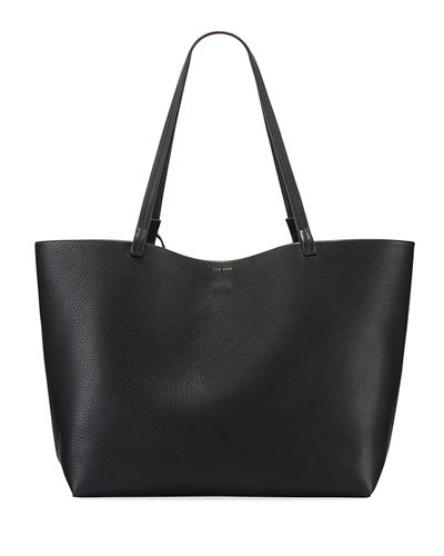 Park Lux Grained Leather Shopper Tote Bag