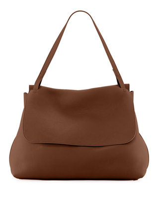 THE ROW Top-Handle 14 Satchel Bag in Lux