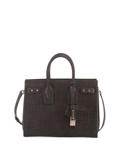 Sac de Jour Small Croco Carryall Bag