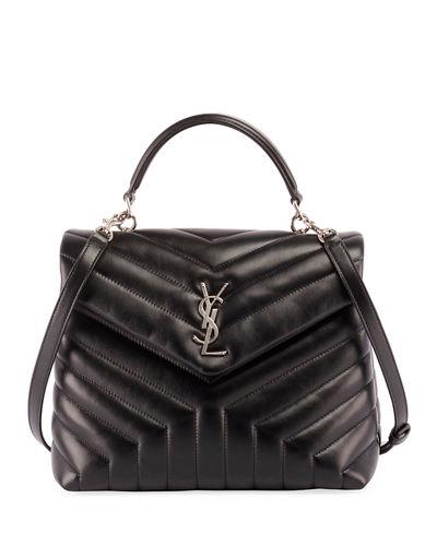 Monogram YSL Loulou Quilted Shoulder Bag