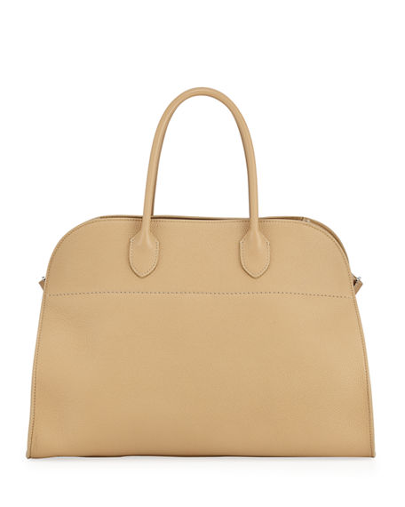 THE ROW Margaux 15 Bag in Grained Calfskin