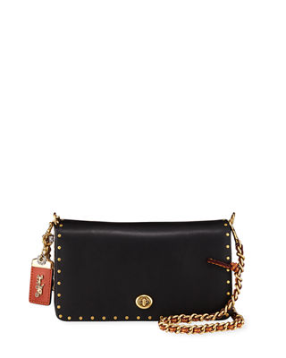 Coach 1941 Dinky Exotic Detail Border Rivets Crossbody