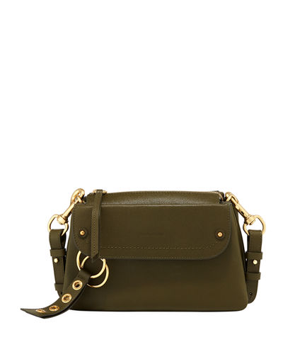 Phil Pebbled Leather Shoulder Bag