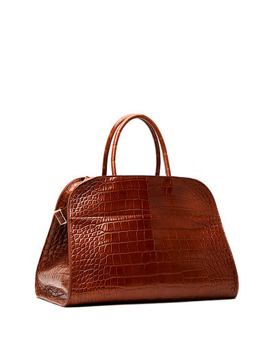 THE ROW Margaux 15 Bag in Alligator