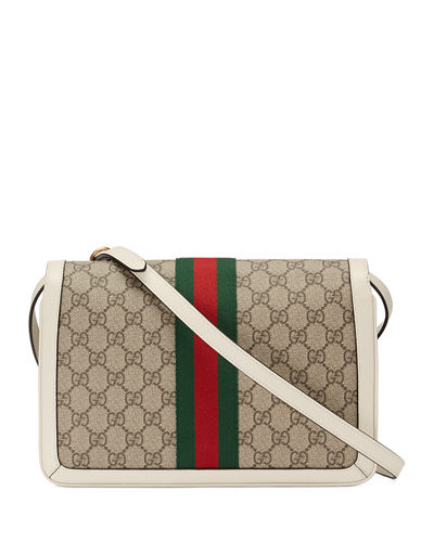 Gucci Queen Margaret Medium GG Supreme Shoulder Bag